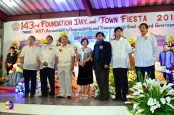 The Pozorrubio Town Fiesta Executive Committee and some of the Town officials